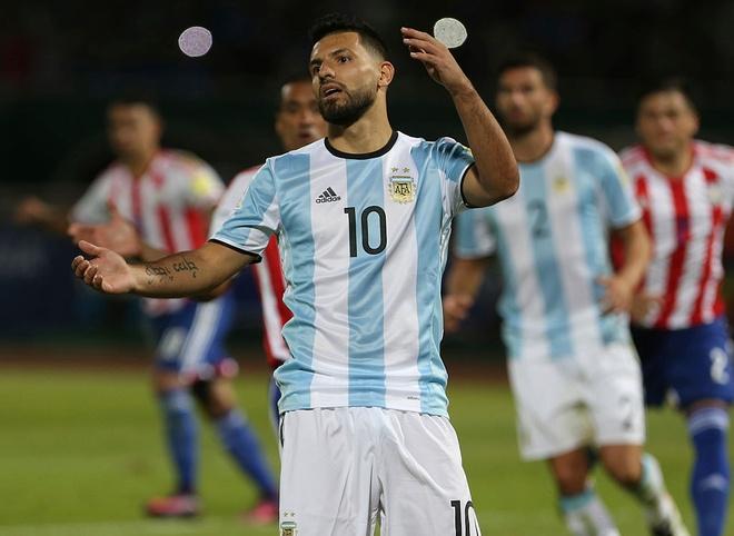 Bao Argentina: Aguero len tuyen nho phe canh cua Messi hinh anh