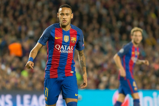 Neymar chinh thuc ky hop dong dat gia voi Barca hinh anh 1