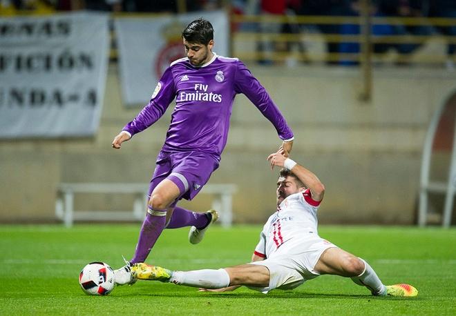 Real Madrid vs Cultural Leonesa anh 1