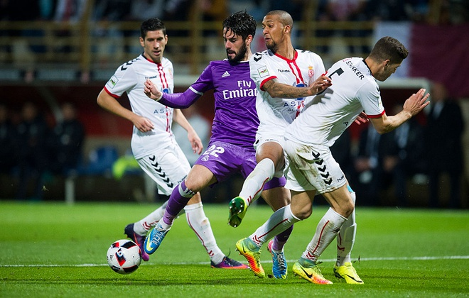Real Madrid vs Cultural Leonesa anh 4