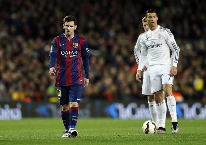 Ronaldo nghi gi ve Messi? hinh anh 1