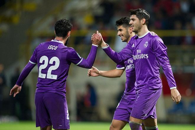 Real Madrid vs Cultural Leonesa anh 11
