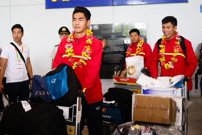 U19 Viet Nam ve nuoc anh 5