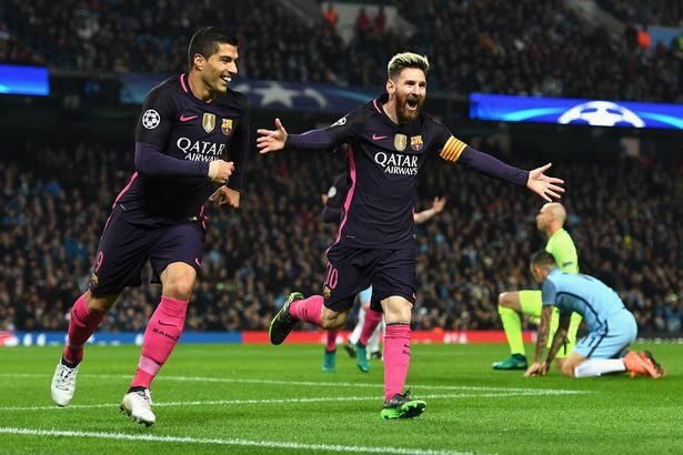 Man City vs Barca anh 1