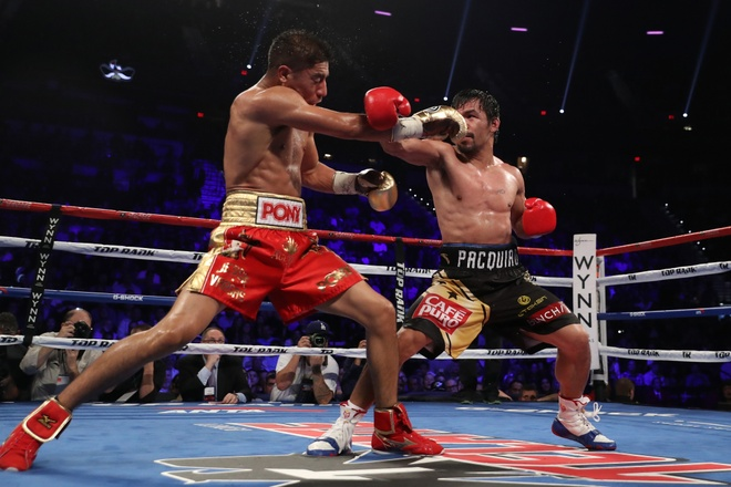 Manny Pacquiao thang diem Jessie Vargas, gianh dai WBO hinh anh 5