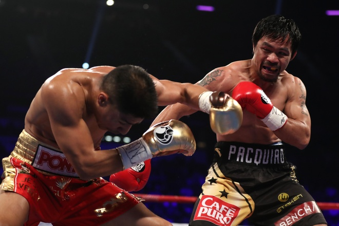 Manny Pacquiao thang diem Jessie Vargas, gianh dai WBO hinh anh 2