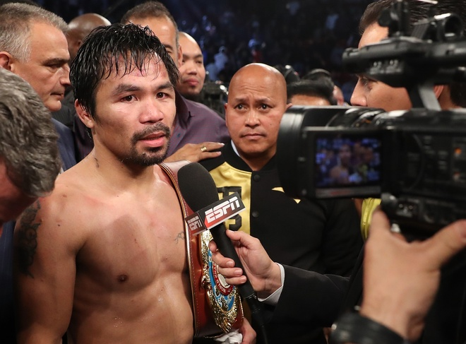 Manny Pacquiao thang diem Jessie Vargas, gianh dai WBO hinh anh 8