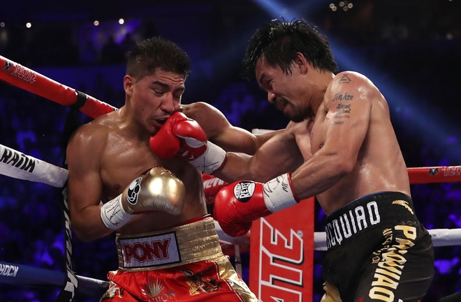 Manny Pacquiao thang diem Jessie Vargas, gianh dai WBO hinh anh 3
