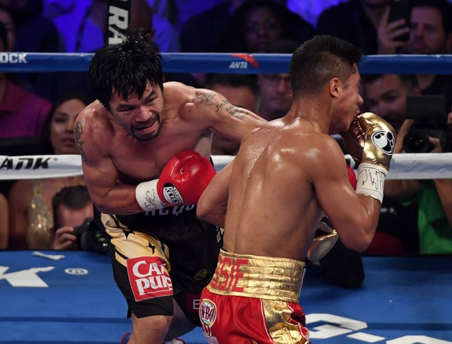 Manny Pacquiao thang diem Jessie Vargas, gianh dai WBO hinh anh 4