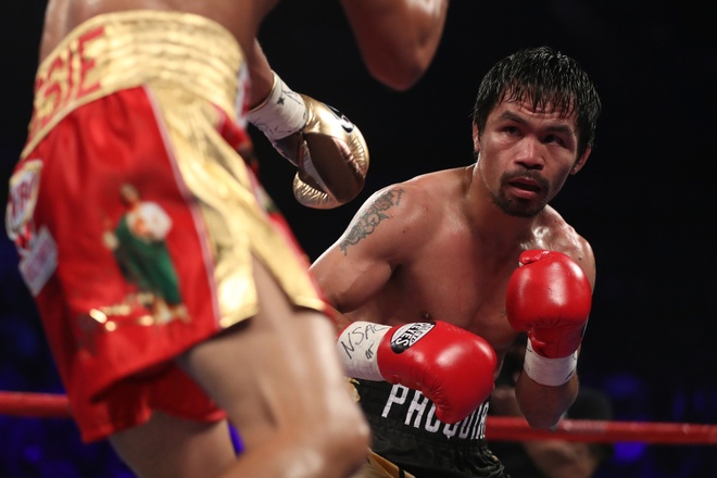 Manny Pacquiao thang diem Jessie Vargas, gianh dai WBO hinh anh 6