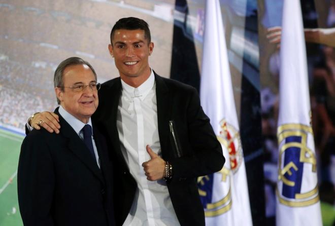 Ronaldo, huyen thoai song cua Real Madrid hinh anh 1