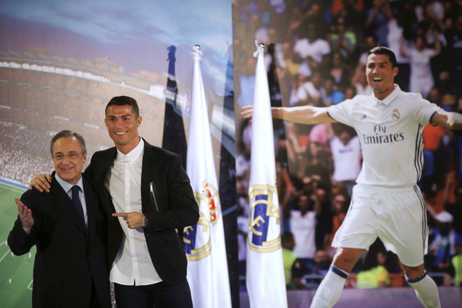 Ronaldo, huyen thoai song cua Real Madrid hinh anh 3
