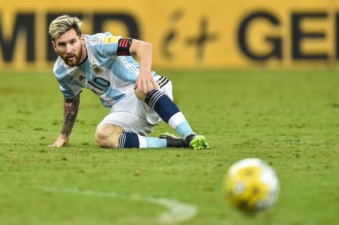 Argentina lam nguy, Messi noi nhung gi? hinh anh 1