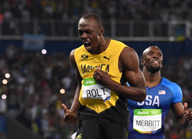 Usain Bolt vs Ronaldo: Meo nao can miu nao hinh anh
