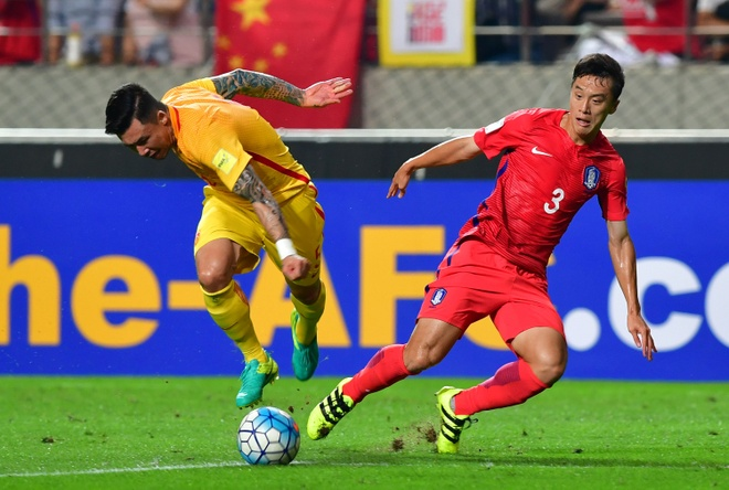 Trung Quoc vs Qatar anh 1