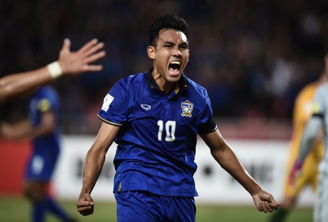 AFF Cup - be phong dua sao Thai Lan ra nuoc ngoai hinh anh