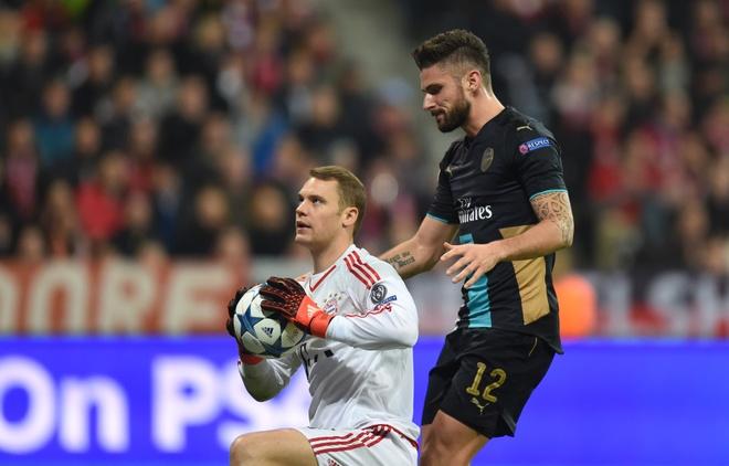 Arsenal khong viec gi phai run ray truoc Bayern hinh anh