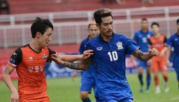 U21 Thai Lan doi mua ban thang vao dai dien Han Quoc hinh anh