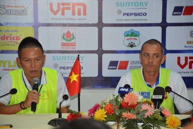 U21 HAGL vs U21 Thai Lan anh 1