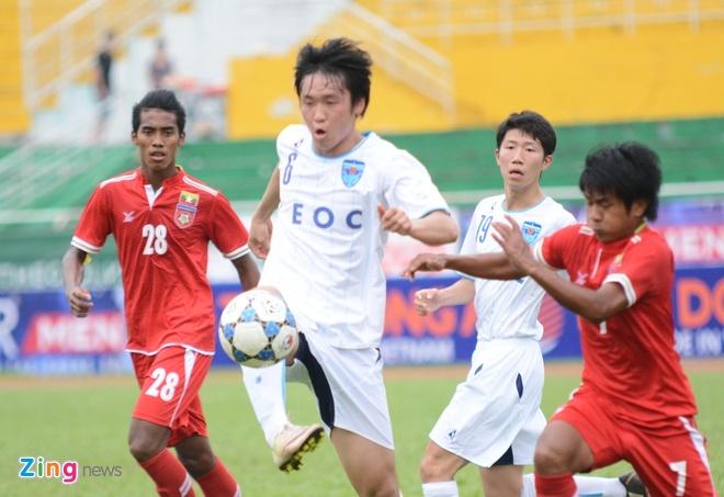 U21 Yokohama vs U21 Myanmar anh 1