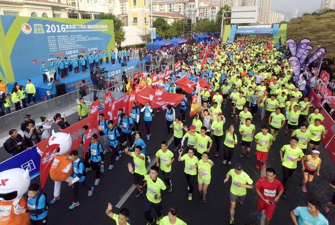 Ven man tro bip trong thi dau marathon cua Trung Quoc hinh anh 2