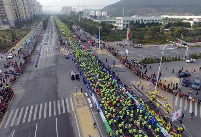 Ven man tro bip trong thi dau marathon cua Trung Quoc hinh anh 3