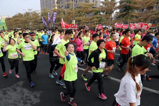 Ven man tro bip trong thi dau marathon cua Trung Quoc hinh anh 1
