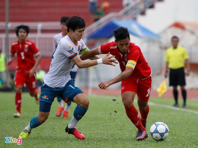 U21 Gangwon vs U21 Myanmar anh 1