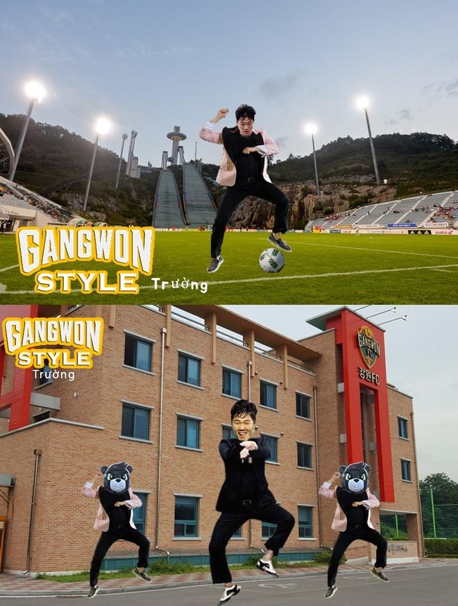 Vi sao Gangwon FC chieu mo Xuan Truong? hinh anh 1