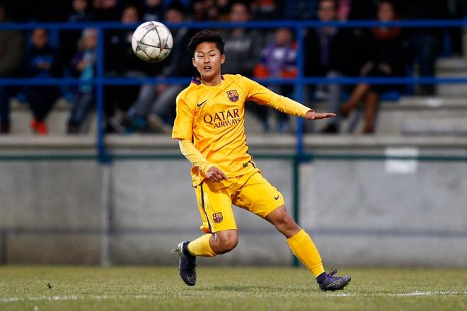 'Messi Han Quoc' truoc nga re so phan o Barca hinh anh 1