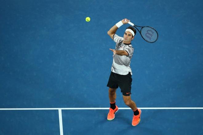 Federer,  nguoi sinh ra hai lan o Australian Open anh 1