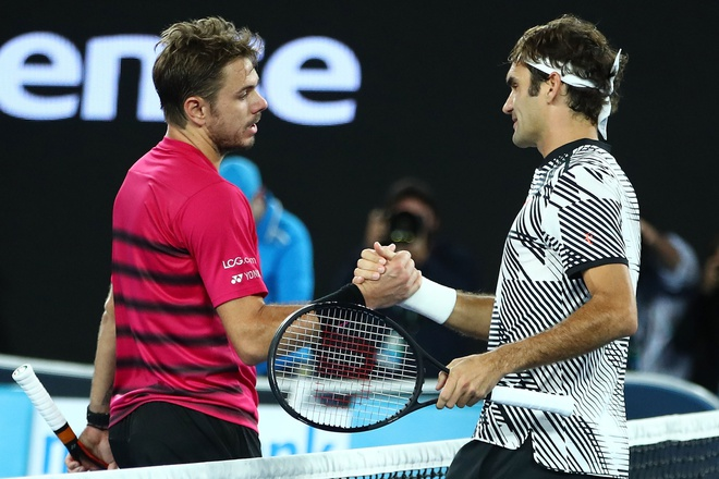 Federer,  nguoi sinh ra hai lan o Australian Open anh 3