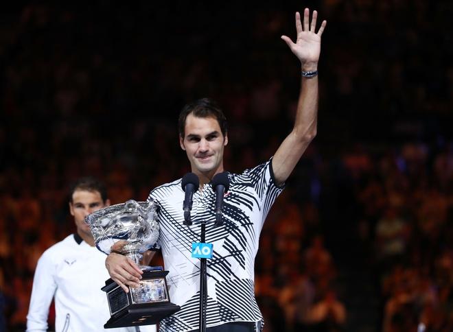 Federer: 'Toi se hai long voi tran hoa va chia se voi Rafa' hinh anh 1