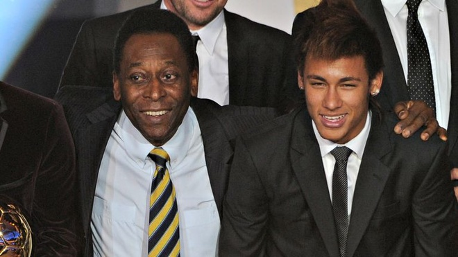Doi loi,  Pele khen Neymar co ky thuat hon Ronaldo anh 1