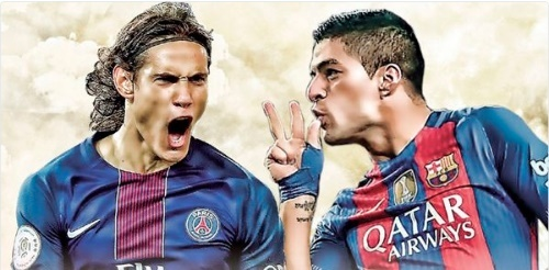 PSG vs Barca: Them mot lan Cavani ve sau Suarez? hinh anh