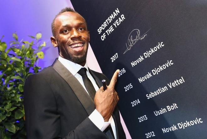 Usain Bolt qua mat Ronaldo gianh 'Oscar the thao 2017' anh 1