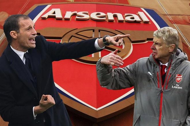Bao Italy: Arsenal tien Wenger, don Allegri hinh anh