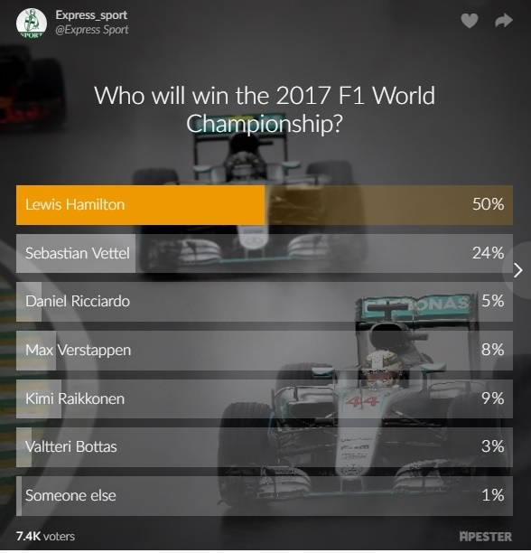 Doc gia tin Lewis Hamilton vo dich F1 mua 2017 hinh anh 1