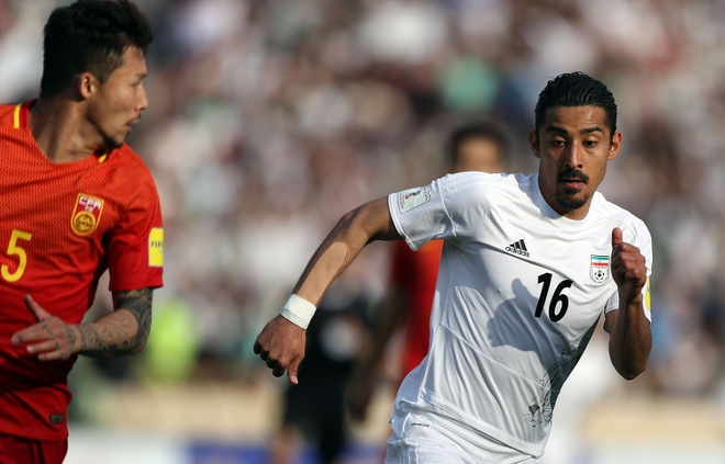 Iran day Trung Quoc ve mat dat tai vong loai World Cup 2018 hinh anh 1