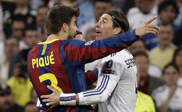 Phe Real Madrid khau chien Barca kich liet hinh anh
