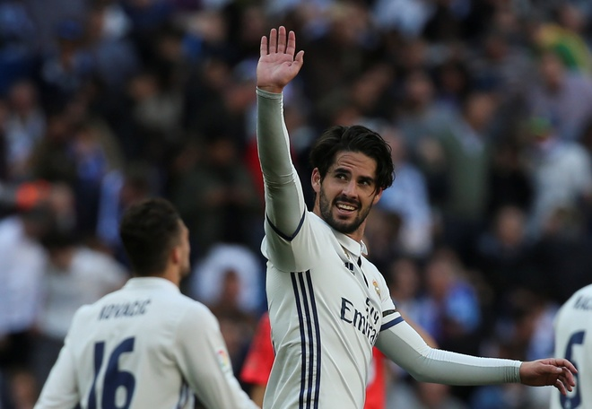 Isco phat thong diep danh thep den Barca anh 1