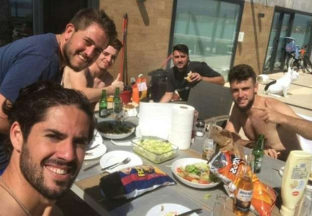 Isco phat thong diep danh thep den Barca anh 2