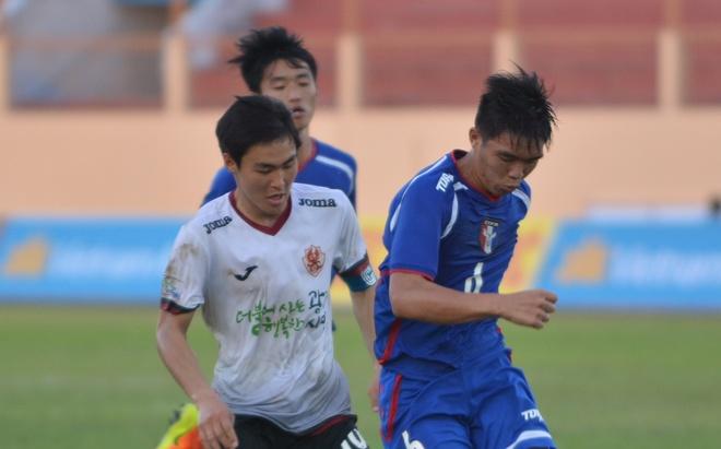 U19 Gwangju chia diem tiec nuoi truoc Dai Bac Trung Hoa hinh anh