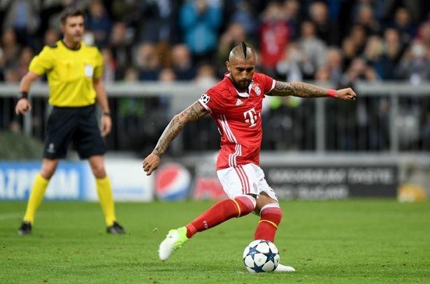 Vidal mo ty so cho Bayern Munich hinh anh