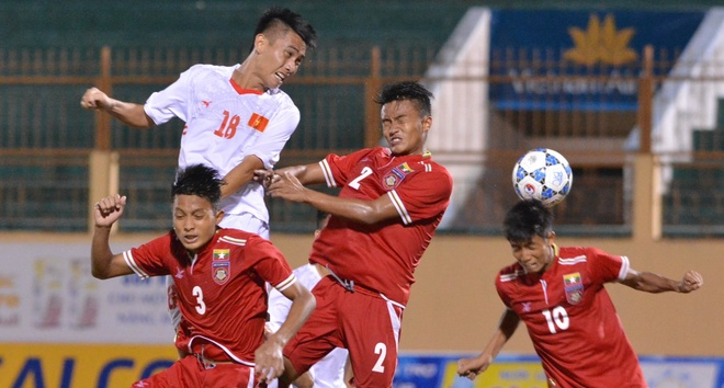 HLV U19 Viet Nam dat cua da chung ket voi Myanmar hinh anh