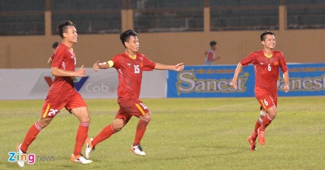 HLV U19 Viet Nam bat bai duoc U19 HAGL hinh anh 2