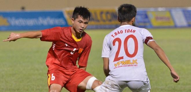 HLV U19 Viet Nam bat bai duoc U19 HAGL hinh anh