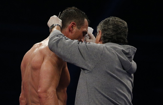Tuong dai Wladimir Klitschko bi suc tre Anthony Joshua ha knock-out hinh anh 9