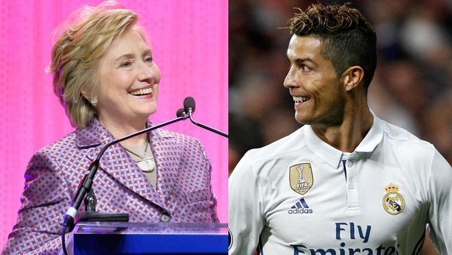 Ba Hillary Clinton bi nham tien doan dung ket qua tran Real - Atletico hinh anh