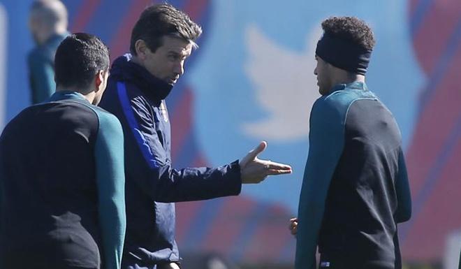 Neymar doa roi Barca hinh anh 1